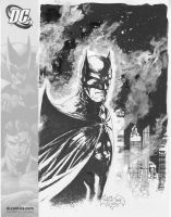 Batman sketch from SDCC 08 by butones