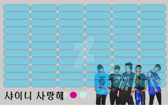 SHINee timetable#6 by chicky7333