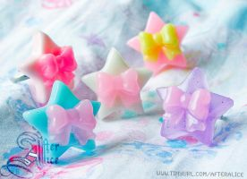 Jelly Star Rings by GenIshihara