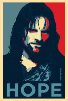 Aragorn Hope poster 2 by grgo1408