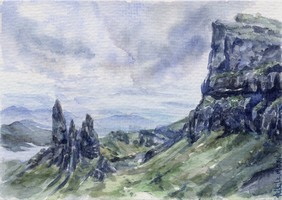 -Postcrossing: The Storr 2 - by RiEile