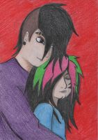 Jayy and Dahvie by ChrisPohl