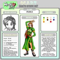 OC Miaka Character Sheet by Thurosis