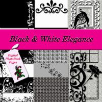 Black and White Elegance Kit by NolaOriginals
