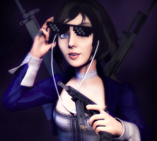 Girl Gun by crazycombine1312