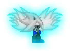 Josh The Angel Sprite.-And his glow- by The-Dark-Nation