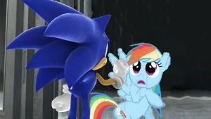 Sonic and Rainbow mirrors by aPAULo17
