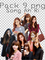 pack 9 png ulzzang Song Ah Ri by cat-b3bi