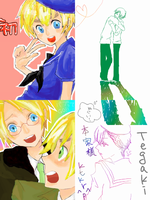 Tegaki Blog: Hetalia by milei