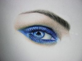 Megan Fox EYE by im-sorry-thx-all-bye