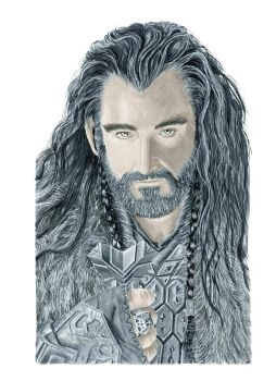 Thorin from the Hobbit by Sofera