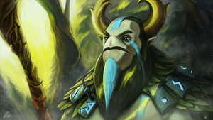 Nature's Prophet - Dota 2 by Silver-Fate
