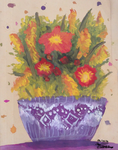 Flower Vase Painting by Artistic-Ana