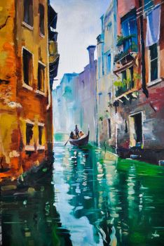 Canals of Venice by syntyni