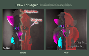 Draw This Again Contest Entry by Krissi2197