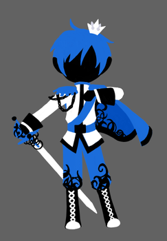 Vocaloid - Prince of Blue by Dj-Mewmew