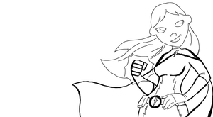 Amps's New Outfit WIP by DCFangirl01