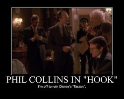 Phil Collins in 'Hook' by JohnMarkee1995