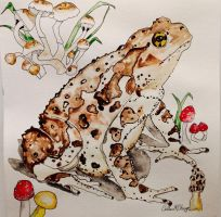 A Toad Named Howard by mybuttercupart