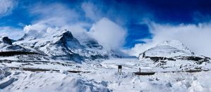 Columbia Icefield, Alberta, Ca by RHVC