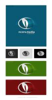 nCore media logo by dsquaredgfx