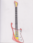 The Infernal Banshee Electric Guitar by Sean5-0