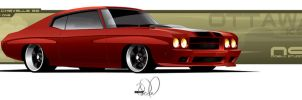 70 Chevelle Mod One by cityofthesouth