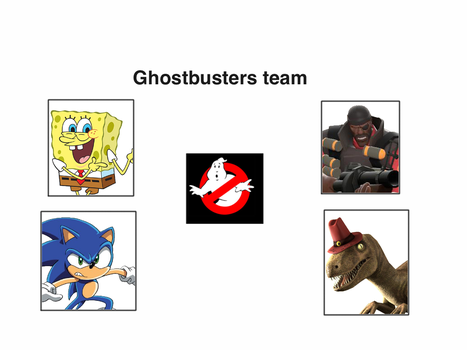 The Cartoon Video Game Ghostbusters by Artapon