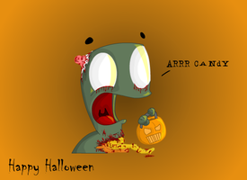 Happy Halloween to all by Meatball-man