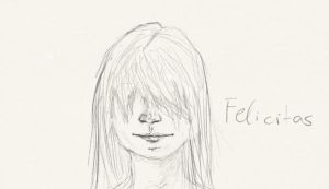 Felicitas Without Eyes by Jaquina