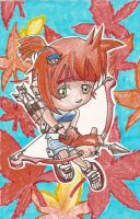 Maple Story manwha character by chibi-esque
