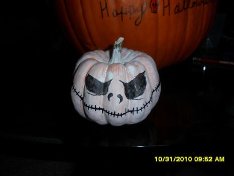 Jack Pumpkin Front by doneandone