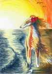 Endlos (ACEO) by Woodswallow