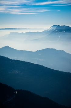 Layers Of Mist by Chupon