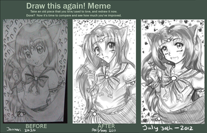 Draw this again meme - 2012 by Egao-ho