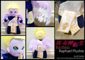 Raphael Plushie by WarriorOfPurgatory