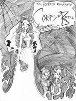 Corpse Bride Movie Poster by SilverTallest