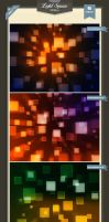 Light Square Backgrounds by baturaN