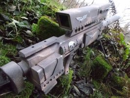 Elysian heavy sniper rifle backside by ElysianTrooper