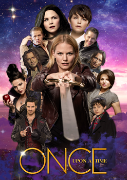 Once Upon A Time poster by Dewymo