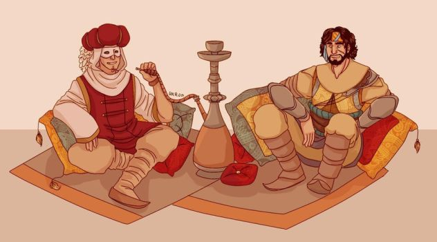 APH and Assassin's Creed by Lazorite