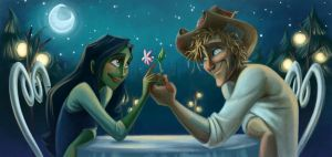 Elphaba and Fiyero by keepsake20