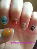 Divergent Nails by Fanpire1997