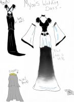 Myou-Hana's Wedding Gown by FallenLoveAngel