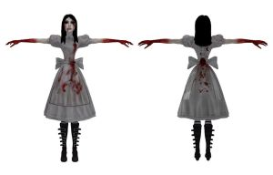 MMD Hysteria Alice DL by 0-0-Alice-0-0