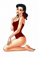 Pin-up by Tedstill