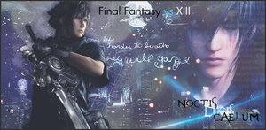 Noctis signature by XxClaireStrifexX