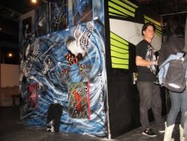 the wall mural by Raggatron