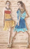 Fashion inspired by Egypt by love-anya
