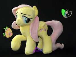 Fluttershy RHV1 Glow-in-the-Dark by kiashone